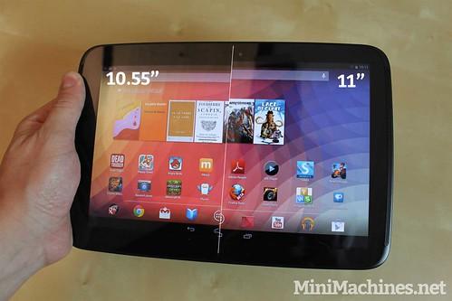 """Nexus 11 (10.55"""" Vs 11"""")"""