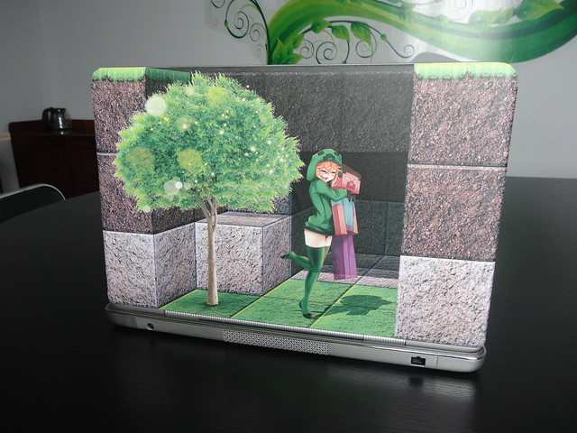3d sticker for laptop skin-minecraft