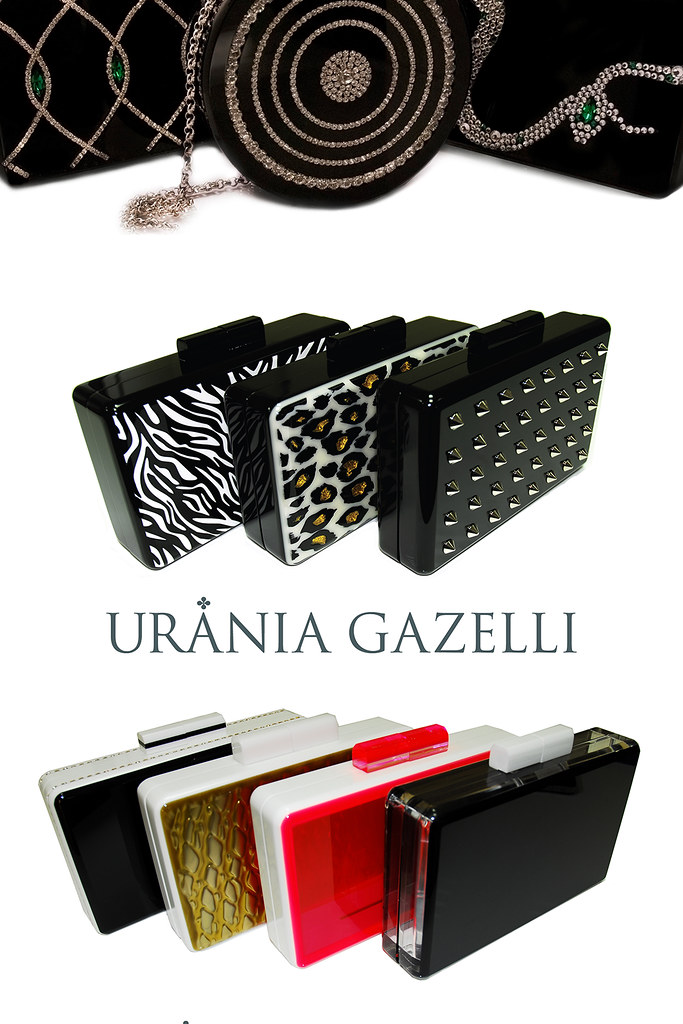 urania gazelli clutches - ss2013 collection accesories