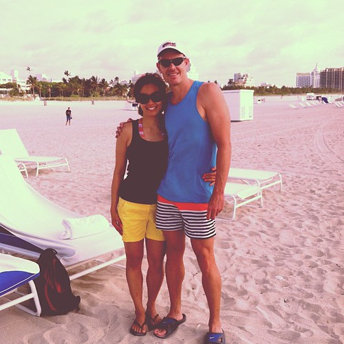 Last day on the beach :( #ejktakemiami