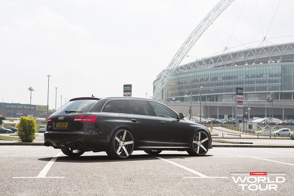 Introducing The Audi Rs6 Avant Vossen Wold Tour Europe