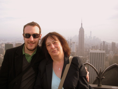Son & Mum, Top of the Rock