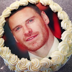 Well, it's certainly the sexiest cake I've ever made #fassbender #lilypinkbakery
