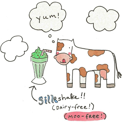Cows could like milkshakes!