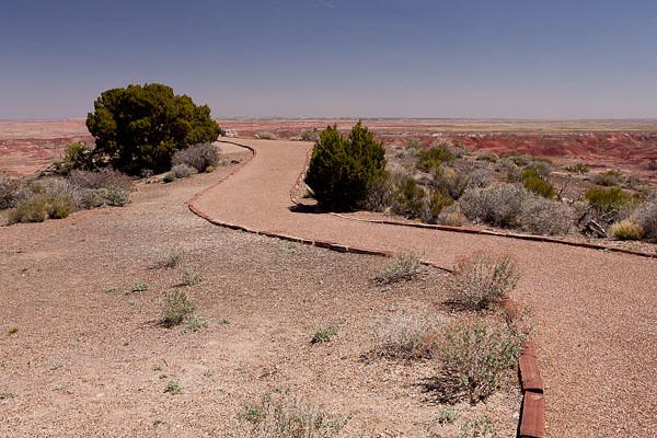 Outlook Path at Painted Desert Inn