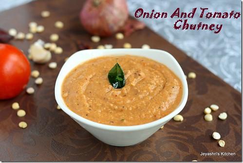 tomato onion chutney