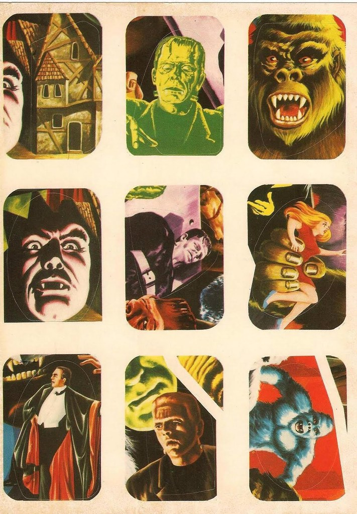 Horror Movie Stickers - 5