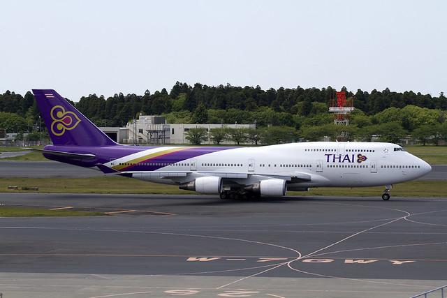THAI Airways B747-400