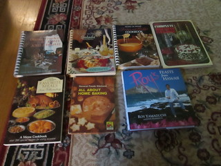 FOL Book Sale - Day 2 - Cookbooks