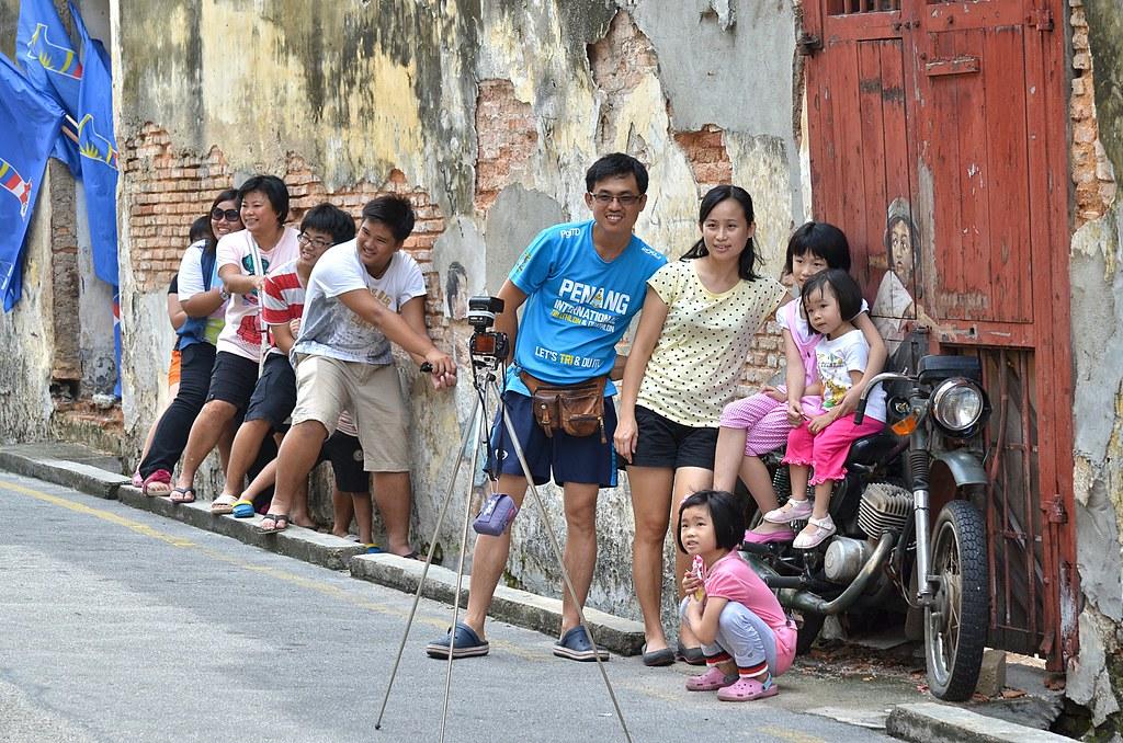 Streets of Georgetown, Penang 乔治敦的街头