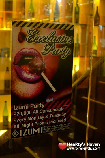 Izumi Exclusive Party