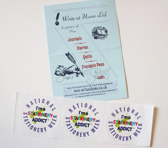 National Stationery Week Stickers