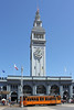 Ferry Building and Streetcar by MSPdude