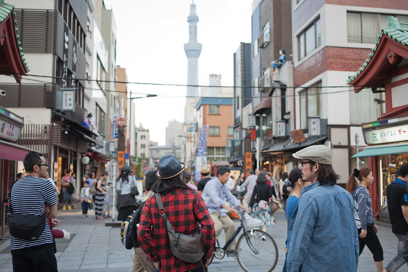 Walk around asakusa