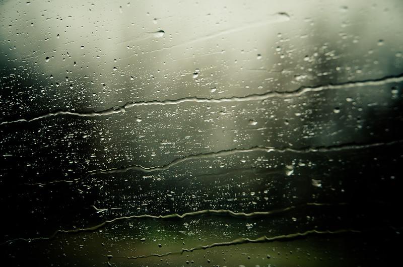 road trip in the rain