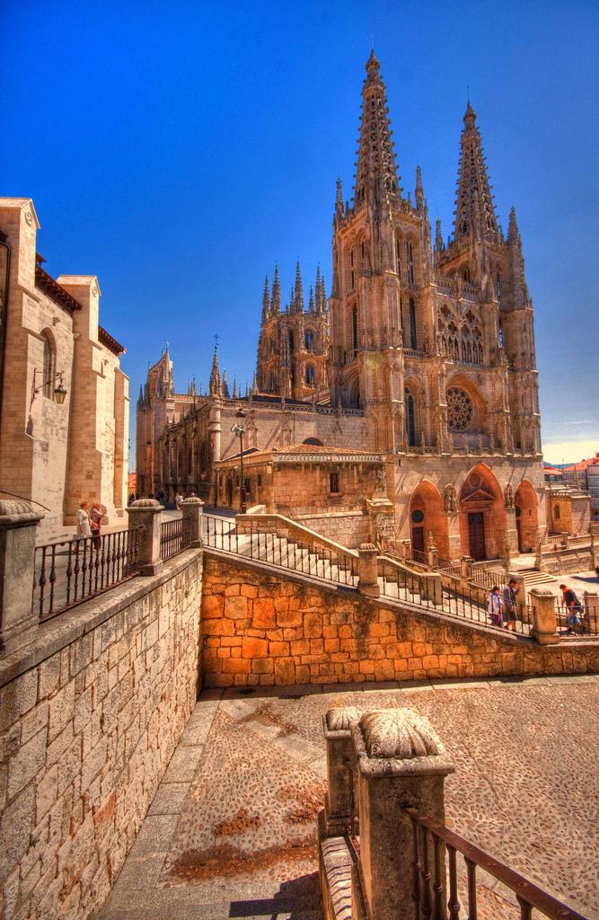 Vista de la Catedral de Burgos. Autor, El Coleccionista de Instantes