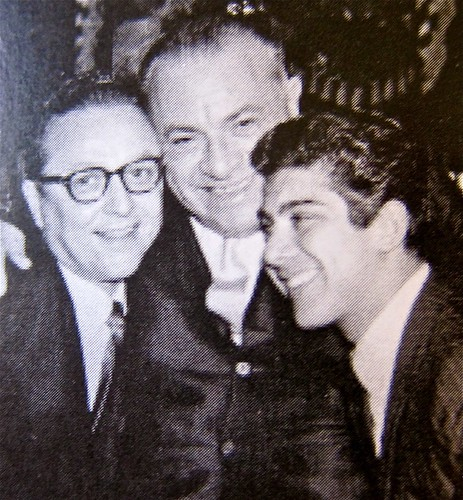 Paul at Copa with Irv Feld(left) and Jules odell