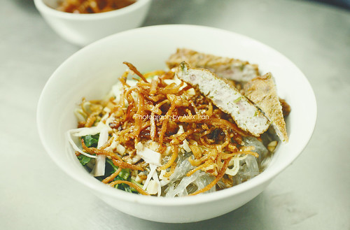 Miến mực - Vermicelli with fried dried squid