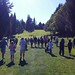 Golf tournament at the Gleneagles Golf Course, West Vancouver