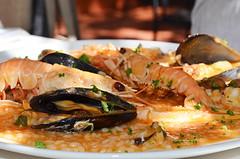 Seafood risotto, Zadar