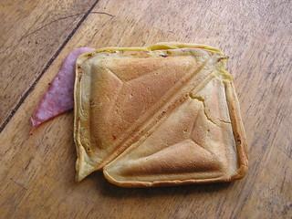 Clongill Free Range Duck Egg Sandwich Maker Pancakes - Result
