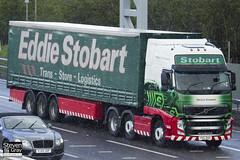 Volvo FH 6x2 Tractor - PX11 BXH - Patricia Elizabeth - Eddie Stobart - M1 J10 Luton - Steven Gray - IMG_8694