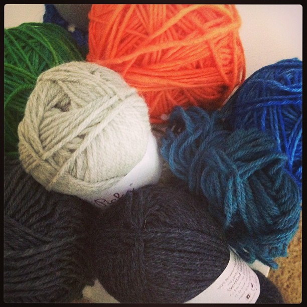 Yay! The rest of my yarn for Staccato arrived. #staccatokal
