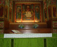 transfiguration altar
