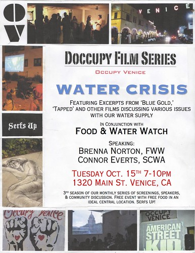 Occupy Venice Beach October 15th