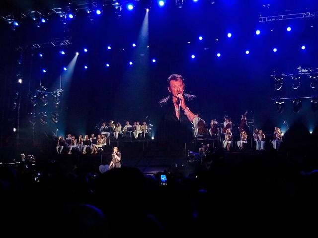 Johnny Hallyday - Born Rocker Tour - Bercy, Paris (2013)