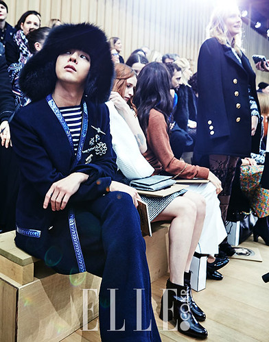 G-Dragon CHANEL Elle Korea (3)
