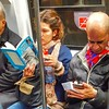 Lecturas en el #subte #today #read #book #phone #travel #metro #BuenosAires #igers #igersbsas