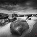 Rocks on Stormy Beach by 風傳影像 SUNRISE@DAWN photography
