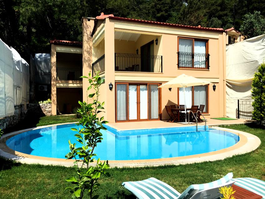 Marmaris, Muğla, Türkiye kiralık villa , kiralık yazlık, yazlık villa - 5506