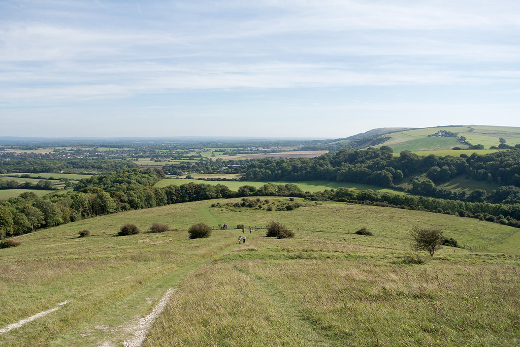Wolstonbury Hill Hassocks to Upper Beeding
