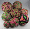 All My Temari, New Pink and Green (5)