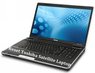 reset toshiba satellite laptop
