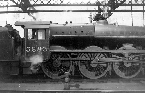 LMS Jubilee 5683 in almost new condition, Euston 1936.