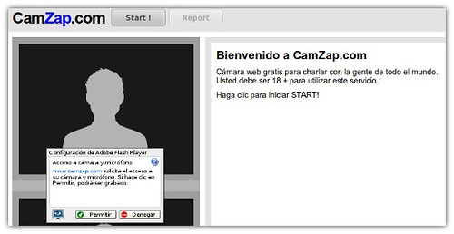 Cam Zap: Chatea Anónimamente por Video con Desconocidos