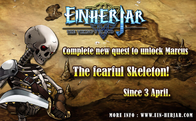 New quest New undead in Einherjar