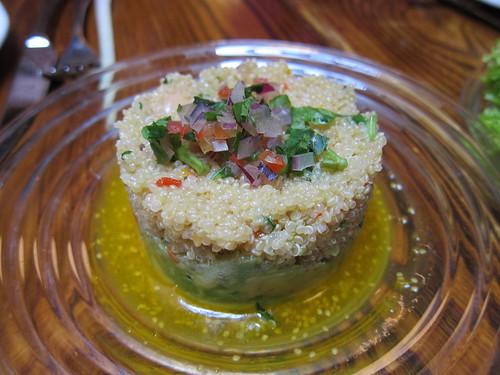 Ceviche - quinoa salad