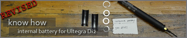 Install internal battery on your Ultegra Di2 Bike