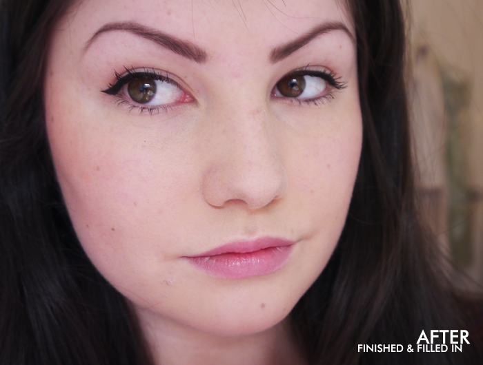hd brows before and after review zen lifestyle spa 2