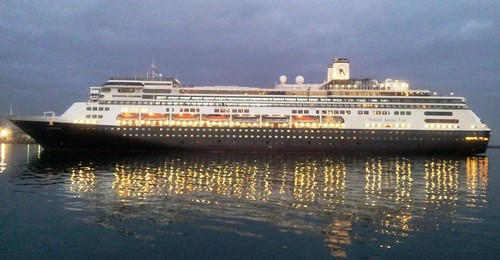 Cruise Ship Amsterdam - Cape Town Harbour 7 April 2013 by chrisLgodden