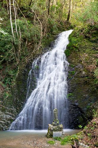 龍泉の滝雄滝 2013.4.7-4