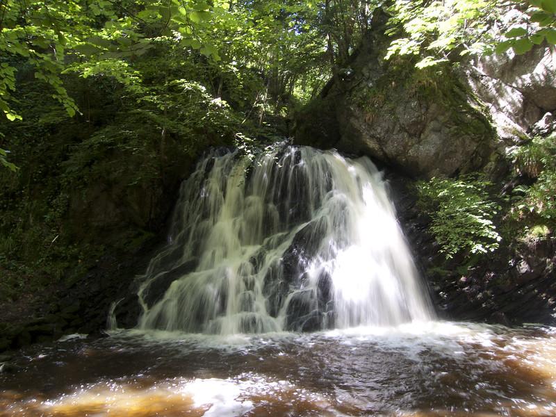Fairy Glen Waterfall, Rosemarkie, Ross and Cromarty