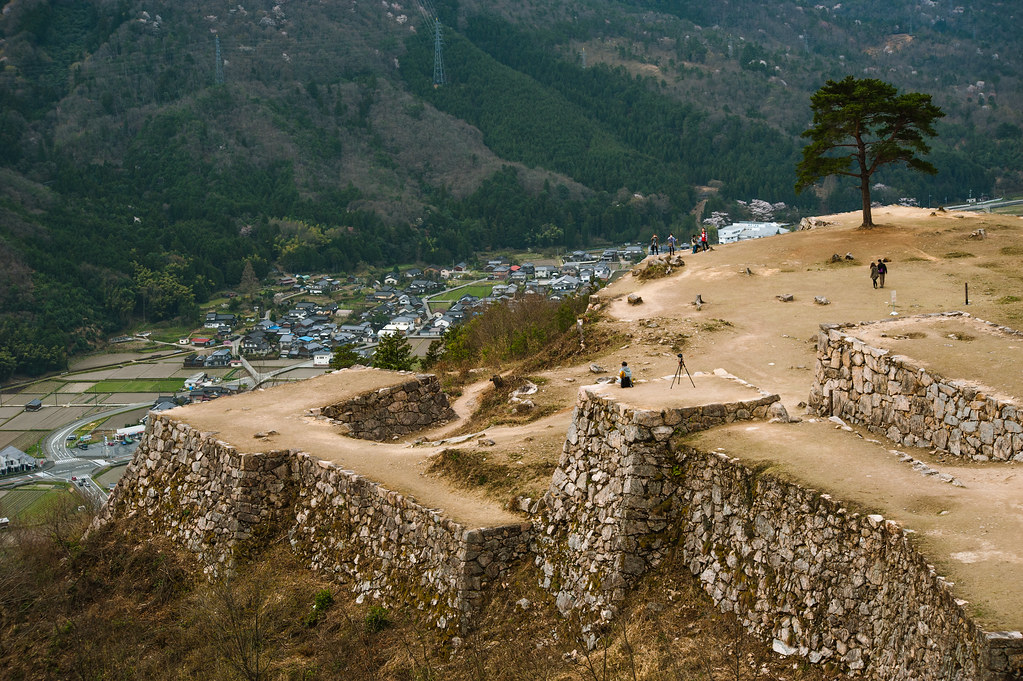 Takeda Castle Remains