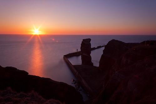 Sonnenuntergang an der langen Anna #4855