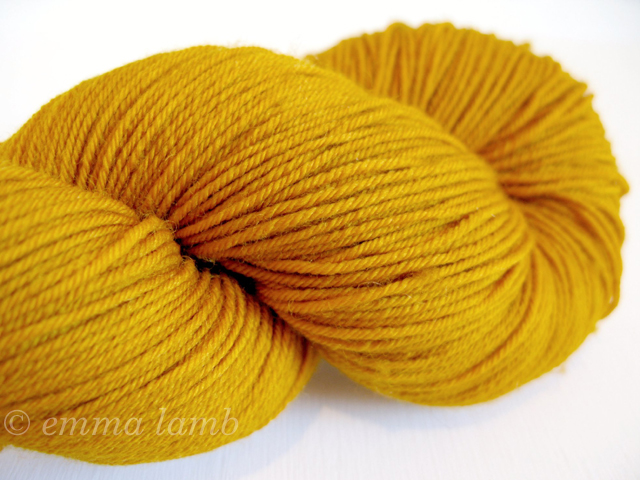 Merino Superwash 4ply in Buttermint, by Old Maiden Aunt | Emma Lamb