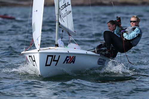 The RYA Youth National Championships 2013 at Largs from the 1st-
